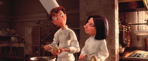 Colette e Linguini